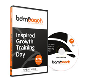 Inaugural Inspired Growth Training Day CD