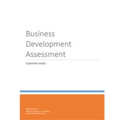 Business Development Assessment