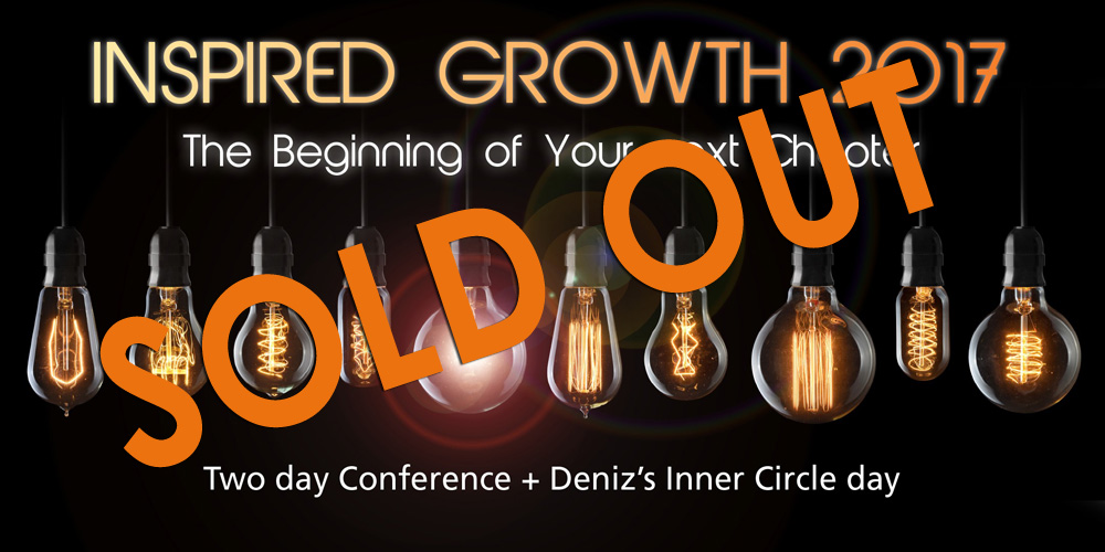 inspired growth 2017 sold out