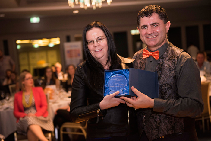 Inspired Growth – Winner – Encouragement Award – Danielle Coady – Element Property Services