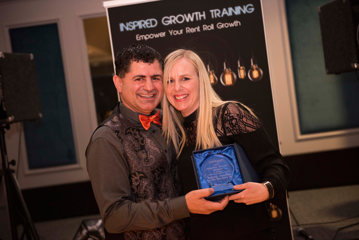 Inspired Growth – Winner – BDM Personal Support Award – Hayley Hawkins, Property Management HQ