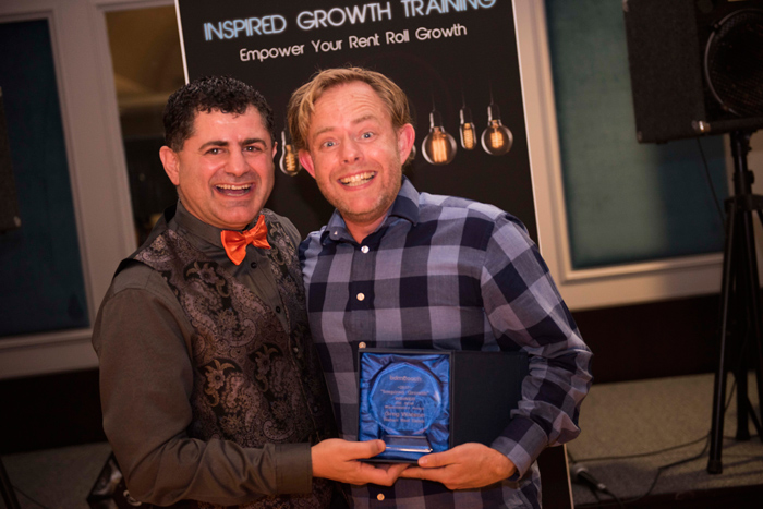 Inspired Growth – Winner - IRE BDM Maximisation Award – Greg Watson, Watson Real Estate