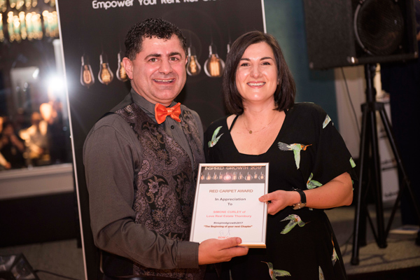 Red Carpet Award Simone Curley – Love Real Estate, Thornbury