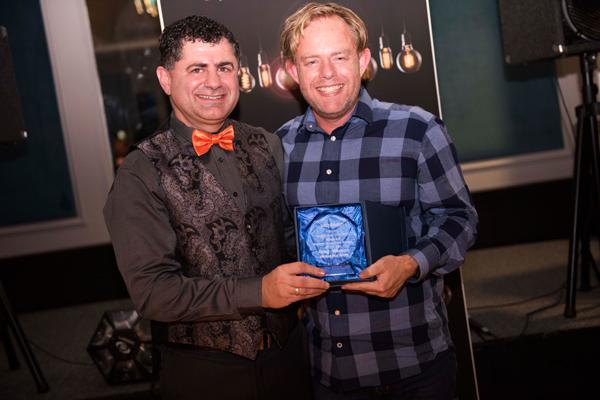 Business Development Manager of the year - Winner- Greg Watson