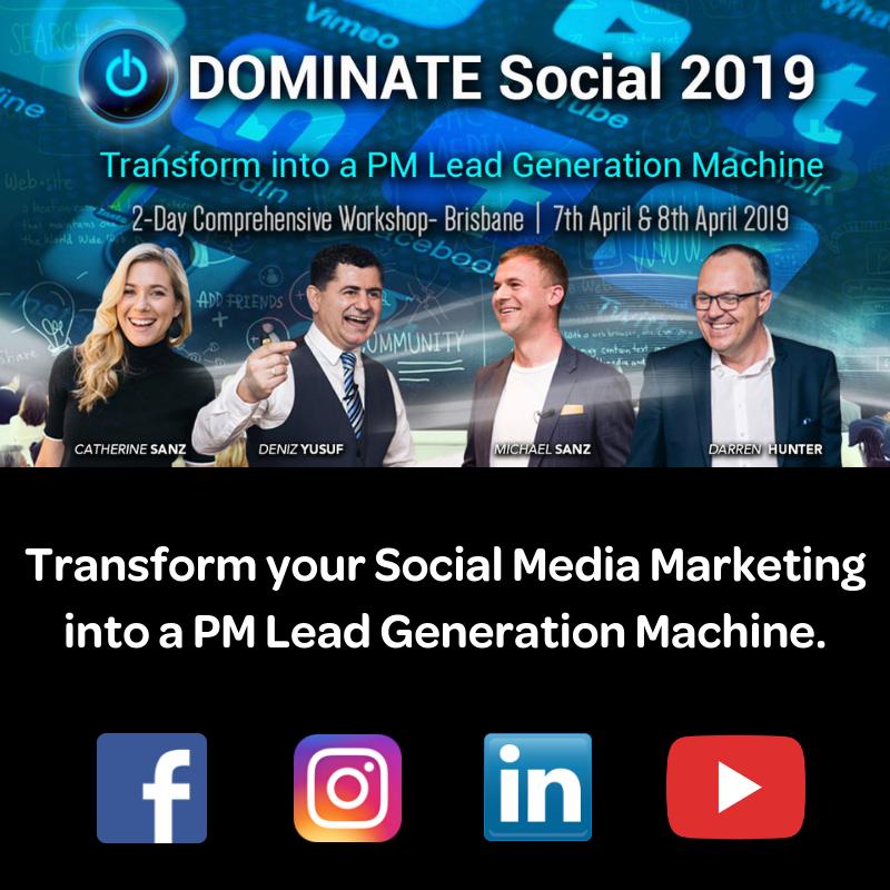 Dominate Social 2019 Conference Australia BDM
