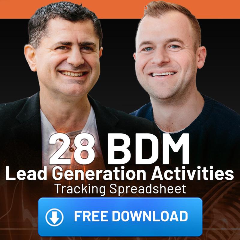 28 Key BDM Lead Generating Activities- FREE DOWNLOAD